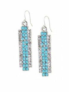Diana Warner Genna Earrings - Anique silver Diana Warner. $88.00