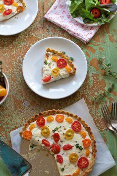 Tomato and Cheese Tart