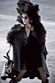 Silent Voyeur   Geiza Rodrigues   Zee Nunes #photography   Elle Brazil June 2012
