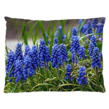 Grape Hyacinth Dog Bed