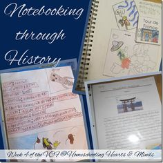 Notebooking Through History, how we do it at Homeschooling Hearts & Minds Teaching History, Early Education, Heart And Mind, Book Lists, Family History, Social Studies, Geography, Curriculum, Homeschooling
