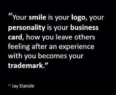 Your logo, your business card, your trademark.....