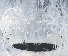 Ferdynand Ruszczyc - 'Bajka zimowa' (1904) #Ruszczyc