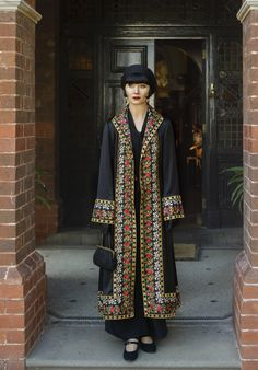 Love this coat! Miss Phryne Fisher (Essie Davis) in 'Marked For Murder' (Series 2, Episode 6)