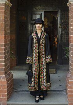 Miss Phryne Fisher (Essie Davis) in 'Marked For Murder'.