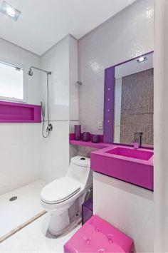 Cubas diferentes para banheiros e lavabos #banheiro #banheirocolorido #cubacolorida