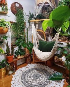 Inspirational ideas about Interior Interior Design and Home Decorating Style for Living Room Bedroom Kitchen and the entire home. Curated selection of home decor products. Room With Plants, Plant Rooms, House Plants, Indie Room, Aesthetic Room Decor, Boho Aesthetic, Plant Aesthetic, Room Ideas Bedroom, Room Wall Decor