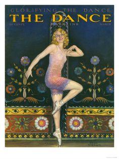 The Dance Magazine, Ballet Magazine, USA, 1930