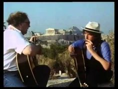 bob dylan van morrison greece 1989