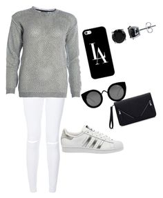 """""""Untitled #19"""" by carlalovegirl on Polyvore featuring adidas, Quay, Casetify, BERRICLE, women's clothing, women, female, woman, misses and juniors"""