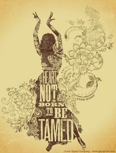 a heart not born to be tamed. inspired by tom waits. {junk gypsy co}