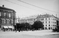 Fra Bergen - Pattersons Hotel Norge. Foto: Narve Skarpmoen/Nasjonalbiblioteket.