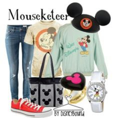 Super cute vintage disney outfit! But with shorts.