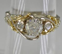 14K Diamond Ring 2879