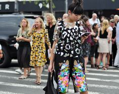 Susie Bubble street style at NYFW SS15