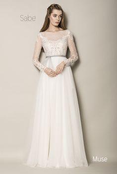 suknia ślubna 2016 wedding dress romantic długi rękaw zwiewna