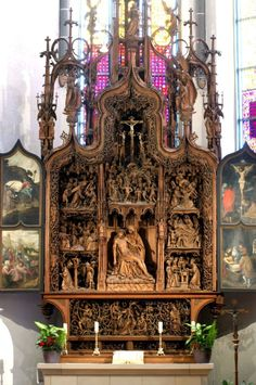 Siebenschmerzenaltar (Altar of the Seven Sorrows).