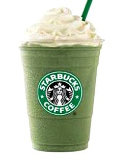 Green Tea Frapuccino - Sold only in US Starbucks unfortunately