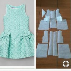 Kids with bow and flare skirt ? pattern Order by line Kids with bow and flare skirt ? pattern Order by line Frock Patterns, Baby Girl Dress Patterns, Dress Sewing Patterns, Little Girl Dresses, Baby Dress Design, Skirts For Kids, Kids Frocks, Toddler Dress, Sewing Clothes