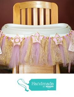 Twinkle Twinkle Little Star High Chair or Wall Banner for First Birthday from Adeline Rose https://www.amazon.com/dp/B01HEZ5TIG/ref=hnd_sw_r_pi_dp_maeMxbJKBF6XT #handmadeatamazon