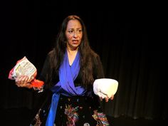 "From The Best of the Fest Benefit Performer: Paulina Sahagun during her solo show ""Nahuatl: Now What?"""