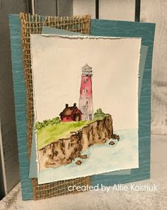 Allie's Adventures in the Kitchen, Crafting, and the Kootenays!: Lighthouse Inspiration