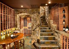 33 Ex&les Of Wine Storage Done Right | Home Sweet Home - DIY Inspiration Ideas | Pinterest | Wine cellars Chaise lounges and Wine & 33 Examples Of Wine Storage Done Right | Home Sweet Home - DIY ...