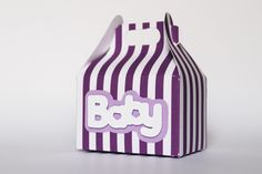 scatolina confetti nascita battesimo  / baptism favor box  Boite a dragées bambino Naissance Baby Shower di PickaPack su Etsy