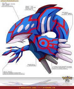 Kyogre by Pokemon-FR