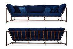 Stephen Kenn ✕ Simon Miller Denim couch