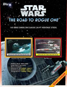 Topps Star Wars: The Road To Rogue One #StarWars