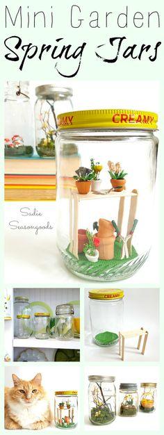 DIY Spring garden de
