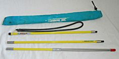 Bandito Travel Spearfishing 3 Piece Pole Spear 3 Prong Paralyzer Tip and Case #Bandito