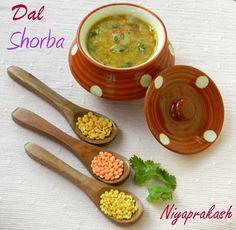 Dal Shorba - A tasty & nutritious lentil soup. Popular in Indian cuisine !!!