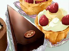 fancy cake anime - Buscar con Google