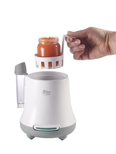 "<a href=""http://amzn.to/1Z5URmT"" target=""_blank"">A Food and Bottle Warmer</a>"