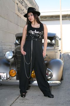 Zoot suits for ladies