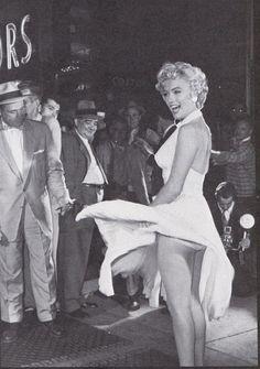 Marilyn Monroe en la película La tentación vive arriba