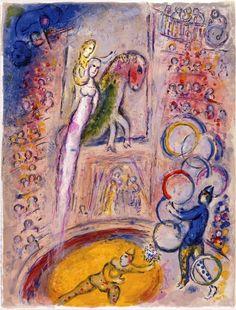 Le cirque dans l'art pictural - chagall