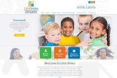 #sesamewebdesign #dental #pediatric #psds #responsive #orange #green #blue #yellow #top-menu #full-width #clean #whimsical #sans #handwriting