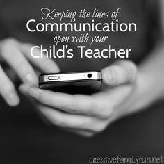 Good communication between the parent and teacher is key to your child's success in school. Here are some tips to keep those lines of communication open.