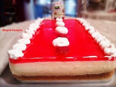 Γλυκό ψυγείου της μαμάς με στέβια!! #sintagespareas Light Diet, Sweet Recipes, Cheesecake, Food And Drink, Pudding, Sweets, Sugar, Cookies, Desserts