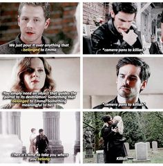 I think it's Definitely Safe to say that Killian Belongs to Emma!! #CaptainSwan #OnceUponATime