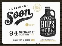 Dribbble - Top Hops - Coming Soon by Renee Fernandez — Designspiration