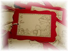 Santas Workshop ~ North Pole  To/ From Hang Tags