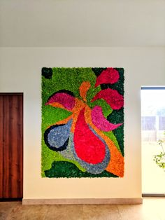 Moss Wall Art, Moss Art, Island Moos, Moss Garden, Outdoor Projects, Luxury Interior, Flower Art, Wall Decor, Creative