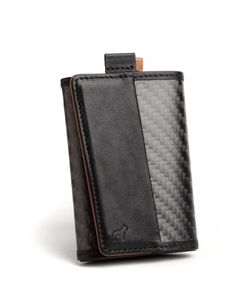 Carbon Fiber Frenchie slim style functional speed wallet