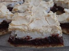 Hungarian Desserts, Hungarian Recipes, Hungarian Food, My Recipes, Recipies, Cake Cookies, Biscuits, Food Photography, Food And Drink