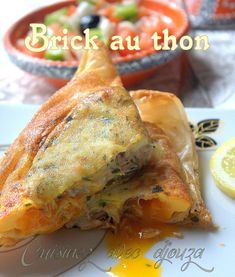 Ramadan Recipes 336221928428019900 - Brick au thon facile Source by valouap Cooking Chef, Batch Cooking, Cooking Recipes, Chicken Turnovers Recipe, Crepes, Slow Cooker Moroccan Chicken, Lunch Recipes, Healthy Recipes, Tunisian Food