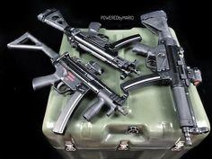 #Repost @poweredbymario ・・・ OK, one more since I wanted to experiment with how the lighting setup would look with a green military hard case. One SBR, two pistols. Everyone is tagged. #zenithfirearms #mp5 #9mm #pistol #gun #hecklerandkoch #hk #guns #ammo #ammunition #shooting #turkish #turkiye #mke  #tactical #hkparts #holosun #holosunoptics #sbr #shortbarrelrifle #shortbarreledrifle #nfa #nra